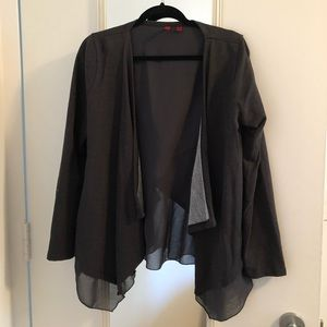 5/48 jacket with cross back